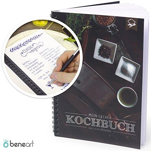 Beneart kochbuch zum selberschreiben meine rezepte mit register zum selbstgestalten - Leuchtsterne fur kinderzimmer ...